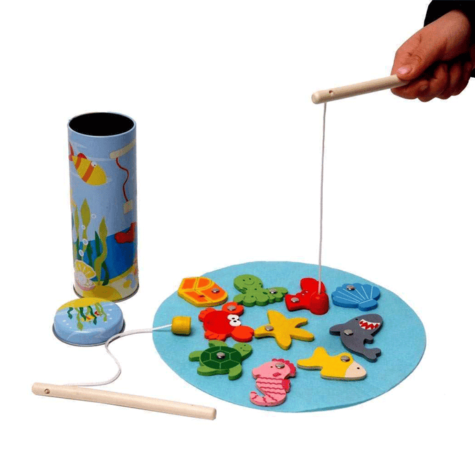Fishing Game Tin Box Kaper Kidz