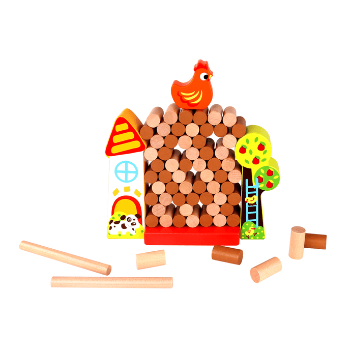 Jenga Farm Tooky Toy