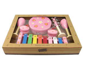 Pink Heart Musical Set - 7pcs
