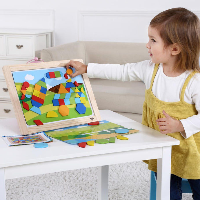Magnetic Puzzle Board - Shapes