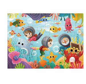 Marine Exploration Jigsaw Puzzle 24pcs