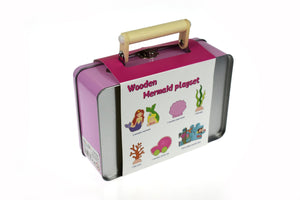 Mermaid Playset with Carry Case