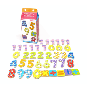 Milk Carton Magnetic Number Kaper Kidz