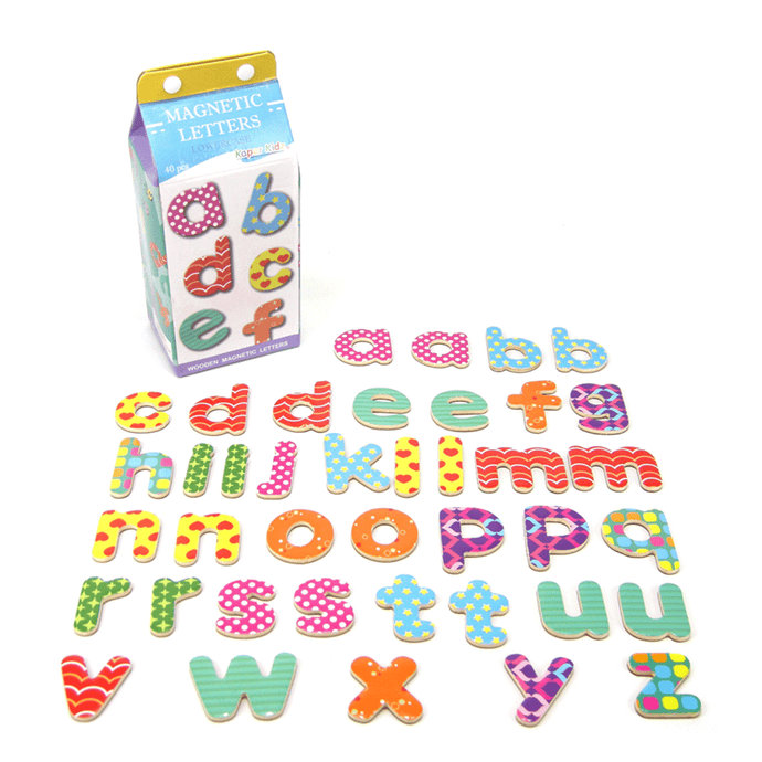 Milk Carton Magnetic - Lowercase Kaper Kidz
