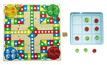 Tin Box Game - Ludo & Tic-Tac-Toe