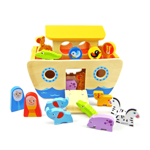 Noah's Ark Wooden Playset