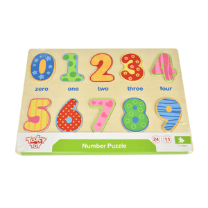 Number Puzzle Tooky Toy