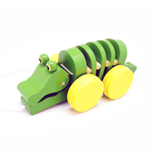 Pull Along Crocodile Tooky Toy