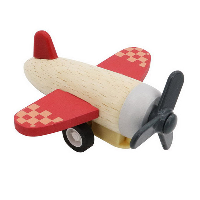 Retro Pull Back Plane - Red