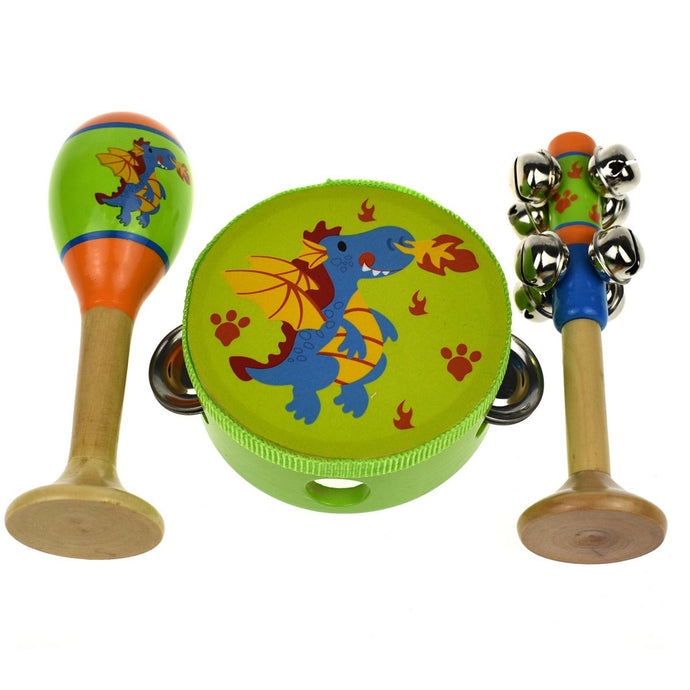Dragon Musical Set - 3 Pieces