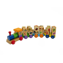 Spin ABC Block Train Kaper Kidz