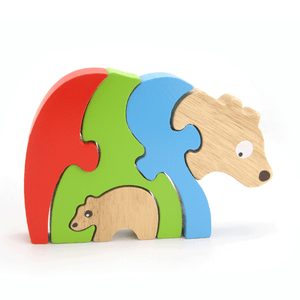 Stacking Jigsaw-Bear & Baby