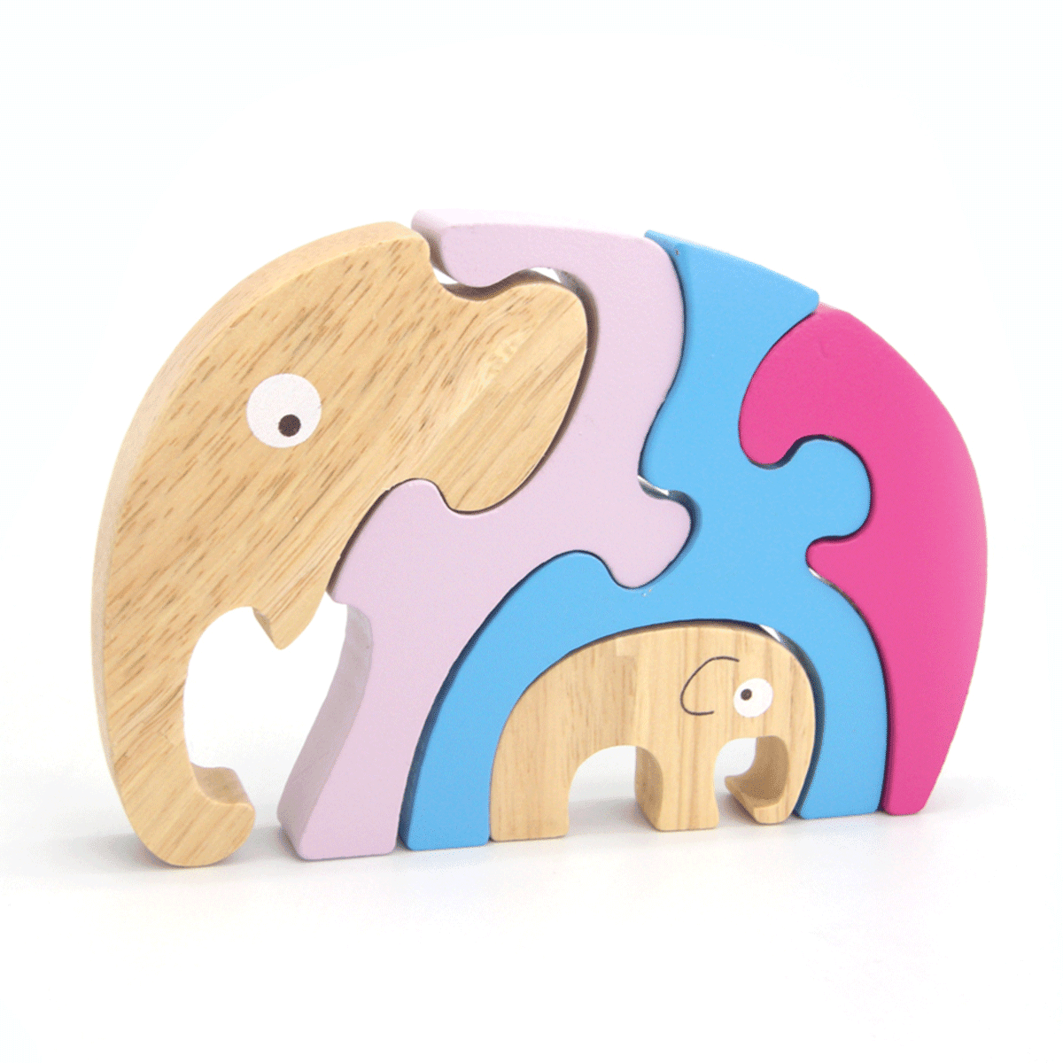 Stacking Jigsaw - Elephant & Baby