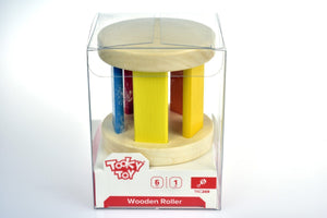 Wooden Roller Tooky Toy packaging