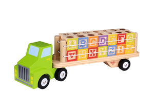 Alphabet & Number Truck Tooky Toy