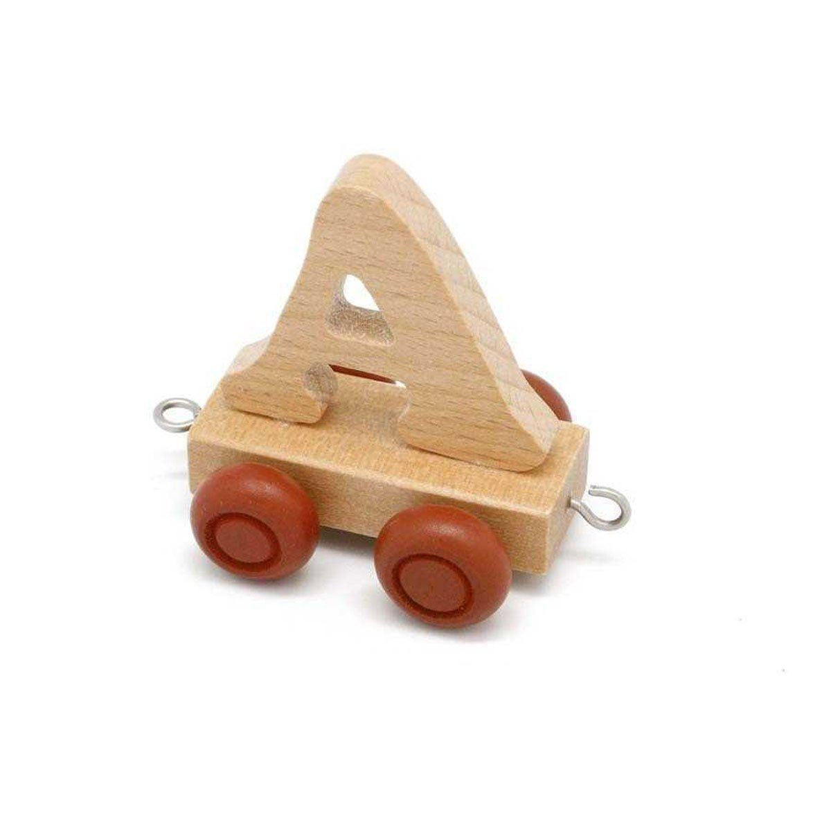 Wooden Train Letter A