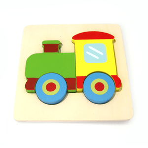 Train Chunky Puzzle Kaper Kidz