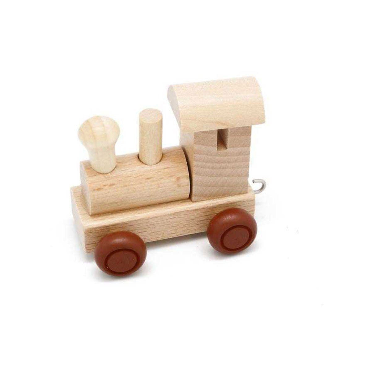 Wooden Train Front Engine