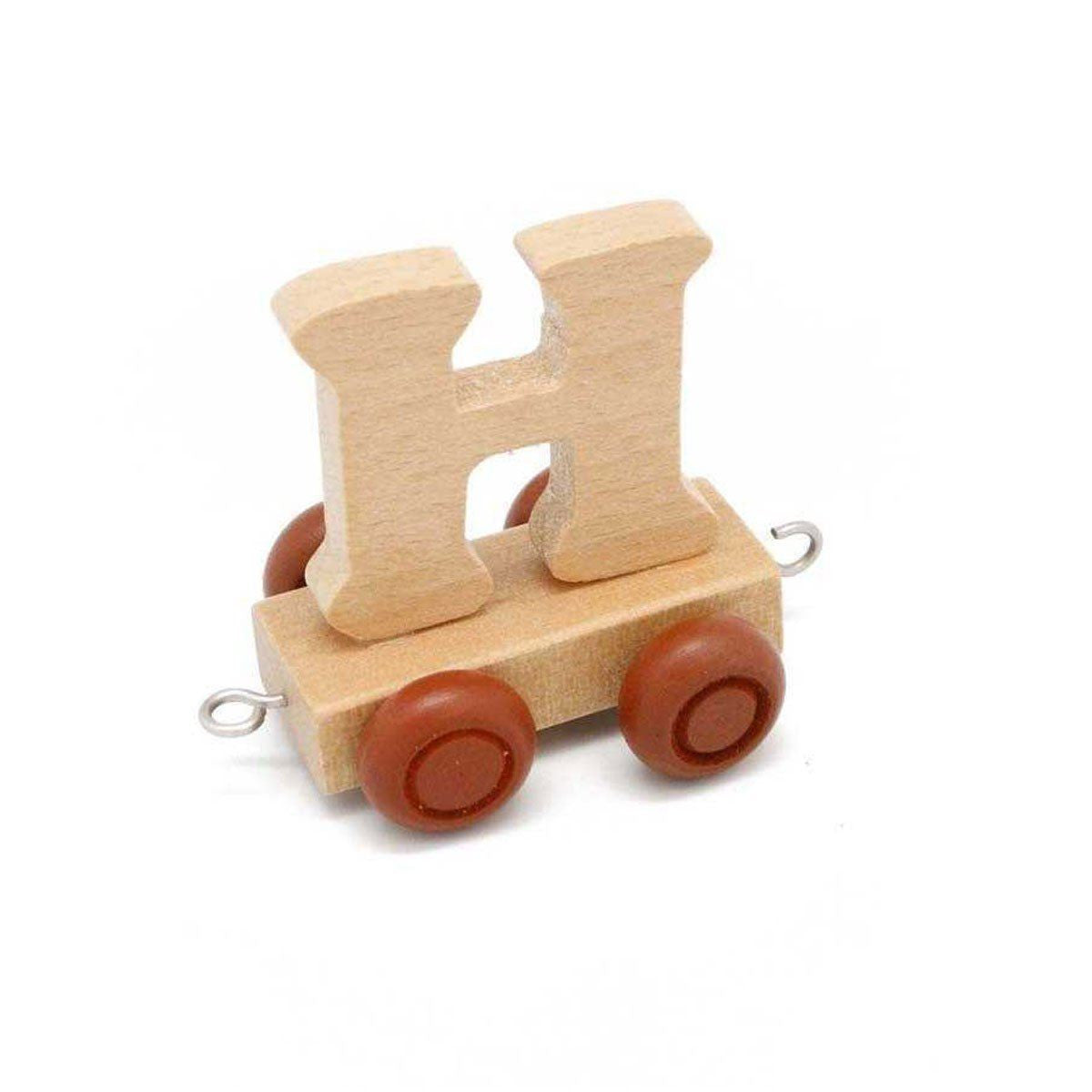Wooden Train Letter H