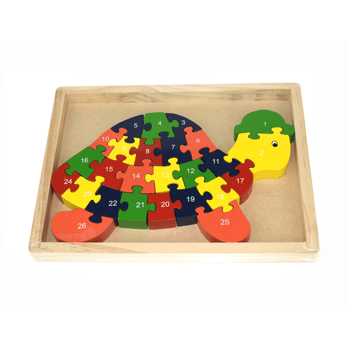 Turtle Jigsaw - 26 Pieces