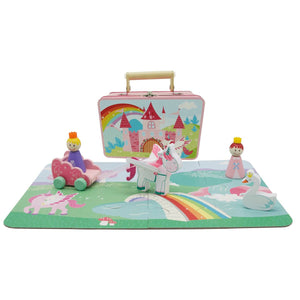 Unicorn Playset With Carry Case