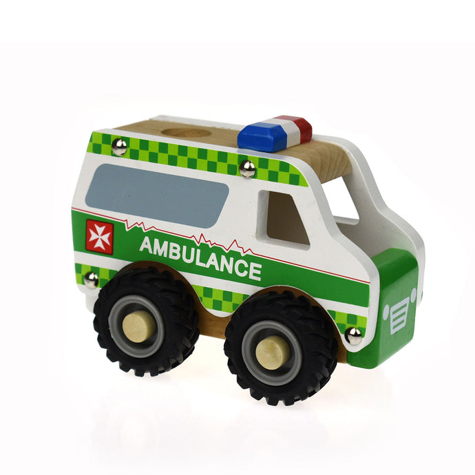 Wooden Ambulance