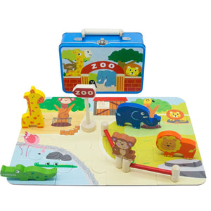 Zoo Playset with Carry Case