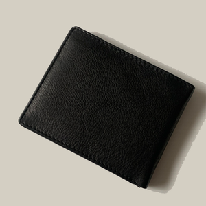 BLACK SOFT LEATHER