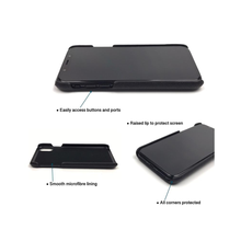 IPHONE 6/7/8 BLACK SAFFIANO LEATHER CASE WITH CARDHOLDER