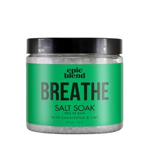"Epic Blend- ""Breathe"" salt soak"