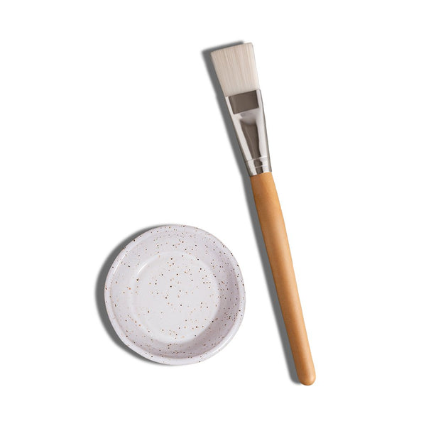 Epic Blend- Face mask brush and dish set