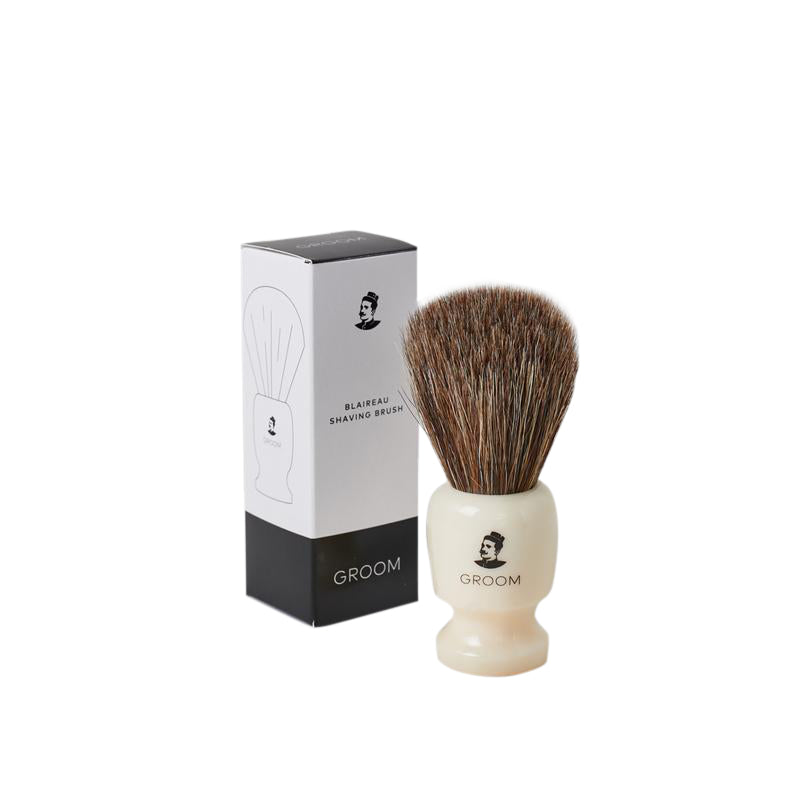 GROOM shave brush