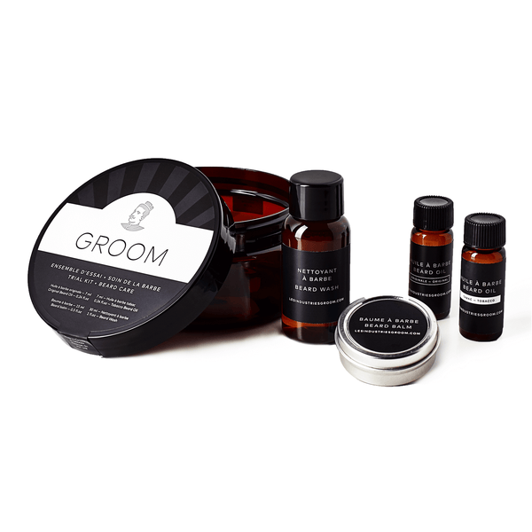 GROOM beard care kit