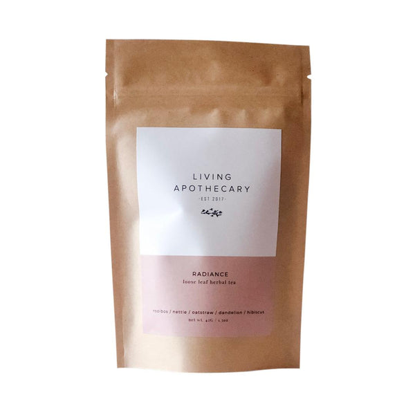 "Living Apothecary ""Radiance"" tea"