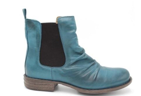 Miz Mooz Lissie in Marine Blue Leather, Our Beautiful Price $189