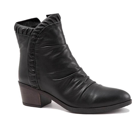 Bueno Connie Boots in Black Leather, Our Beautiful Price $169
