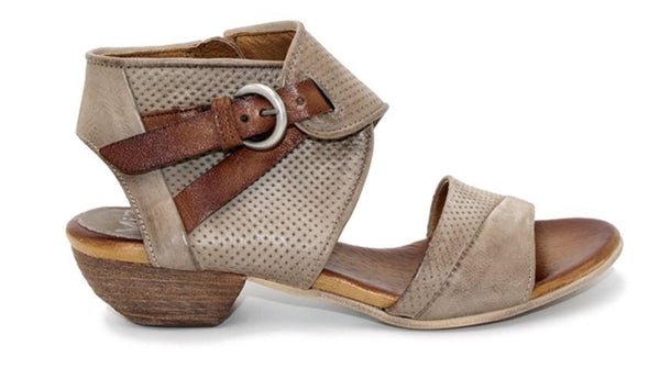 Miz Mooz Chatham In Pebble Grey Leather $199, Our Beautiful Price $149