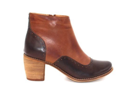 Miz Mooz Durham in  Soft Brown Leather, Our Beautiful Price $209