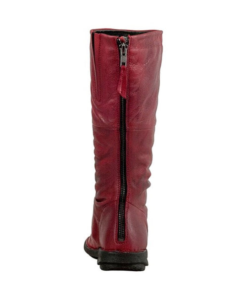 Miz Mooz Prima Boots in Red Leather $239, Our Beautiful Price $199