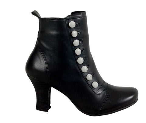 Miz Mooz Kips Boots in Black Leather, Our Beautiful Price $249