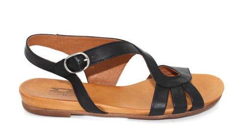 Miz Mooz Ashe Sandals In Black Leather $139, Our Beautiful Price $99