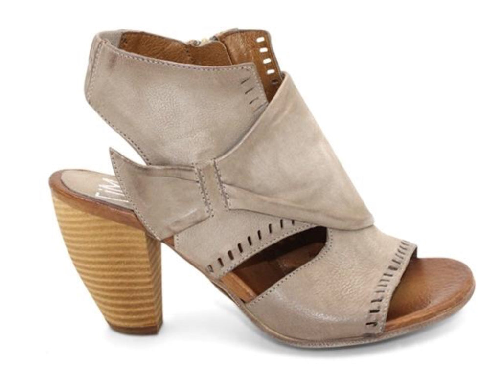 Miz Mooz Moonlight Sandals In Pebble Grey Leather $199, Our Beautiful Price $159