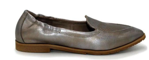 Miz Mooz Cloud in Metallic Nickel Leather $185, Our Beautiful Price $139