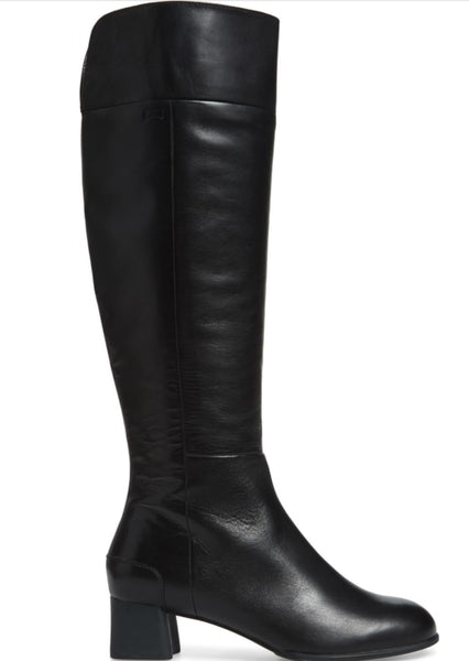 Camper Knee High Boots in Black Leather $239, Our Beautiful Price $199