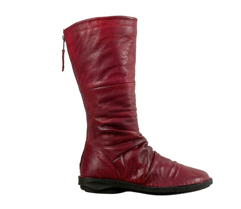 Miz Mooz Prima Boots in Red Leather, Our Beautiful Price $239