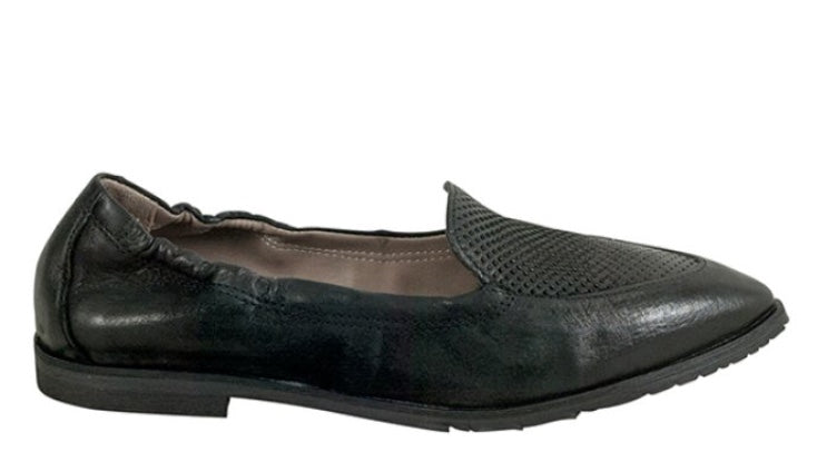 Miz Mooz Cloud Flats in Black Leather $185, Our Beautiful Price $99