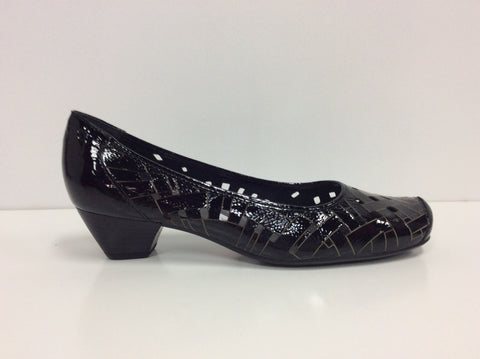 Jenny by Ara, Susie Black Patent Leather $109, Our Beautiful Price $79
