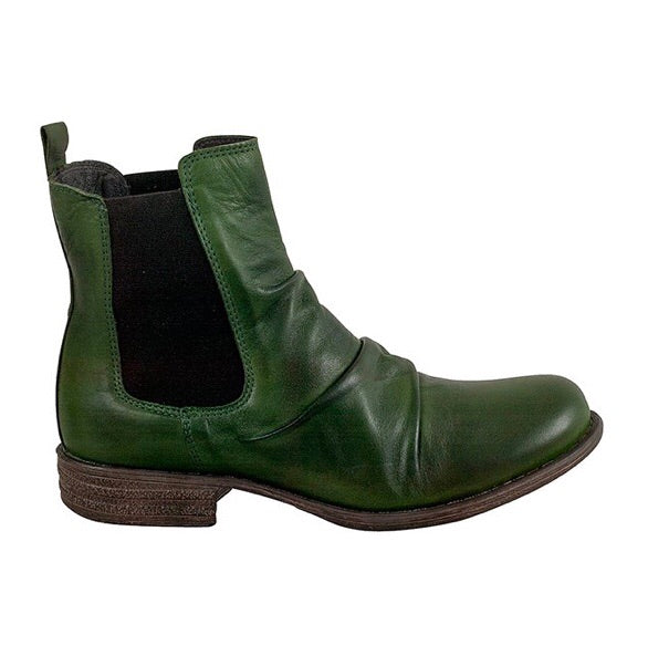 Miz Mooz Lissie in Kiwi Green Leather, Our Beautiful Price $189