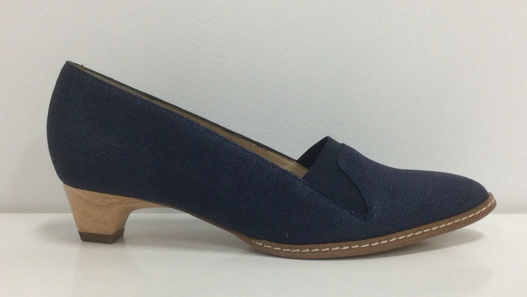France Mode Xefir in Navy  Leather $191, Our Beautiful Price $179