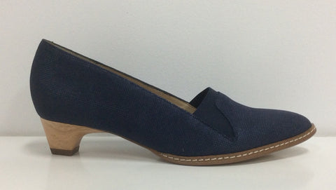 France Mode Xefir in Navy  Leather $191, Our Beautiful Price $159